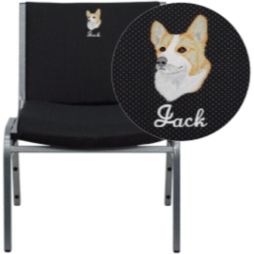 Flash Furniture Hercules Series Personalized Stackable Chair