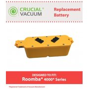Roomba 4000 Battery Replacement, Voltage: 14.4V Capacity: 2500mAh