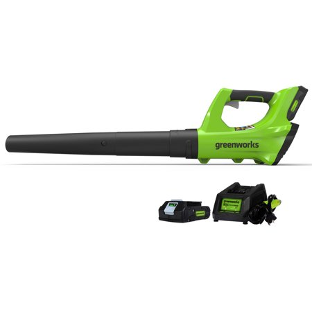 Greenworks 24v G-24 Axial Blower, 2AH Battery and Charger Included