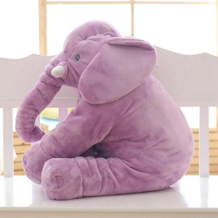 Soft Stuffed Doll (The Noble Collection Baby Child Soft Elephant Cushion Plush Toys Stuff Lumbar Pillow Long Nose Doll)
