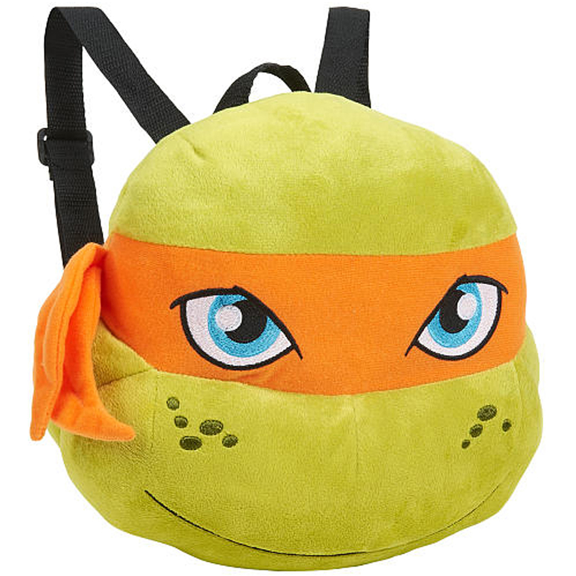 Teenage Mutant Ninja Turtle Michaelangelo Plush Backpack