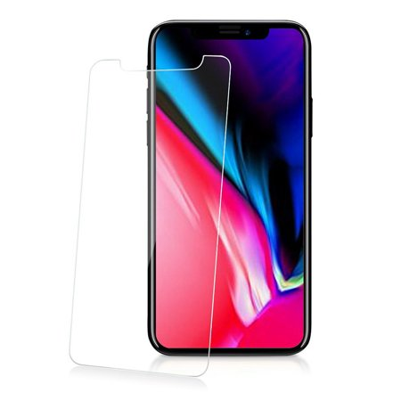 iPhone X Tempered Glass, CLEAR HARD SCREEN PROTECTOR CRACK SAVER FOR APPLE iPHONE X 10](Funny Halloween Screensaver)