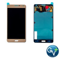 """Touch Screen Digitizer and AMOLED Front Display Assembly for Champagne Gold Samsung Galaxy A7 (2015) SM-A700 (5.5"""") - OEM"""