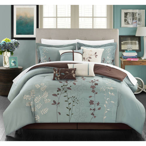 Chic Home Fortuno 12-Piece Bed in a Bag Comforter Set