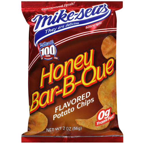 Mike-sell's Honey Bar-B-Que Flavored Potato Chips, 2 oz