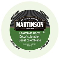 Martinson Coffee Colombian Decaf, RealCup portion pack for Keurig K-Cup Brewers, 96 Count