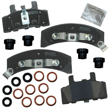 Go-Parts OE Replacement for 1988-1999 Chevrolet C1500 Front Disc Brake Pad Set for Chevrolet C1500