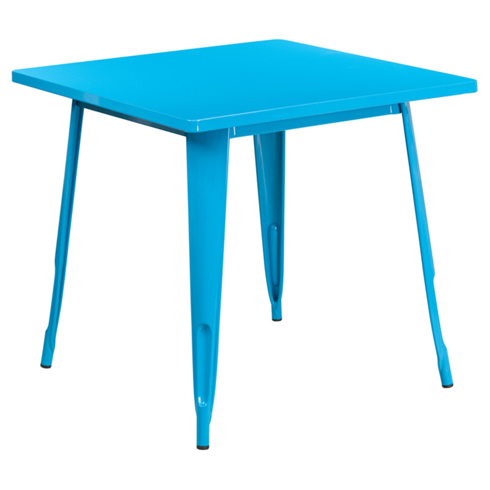 Flash Furniture 31.5'' Square Metal Indoor-Outdoor Table, Multiple Colors