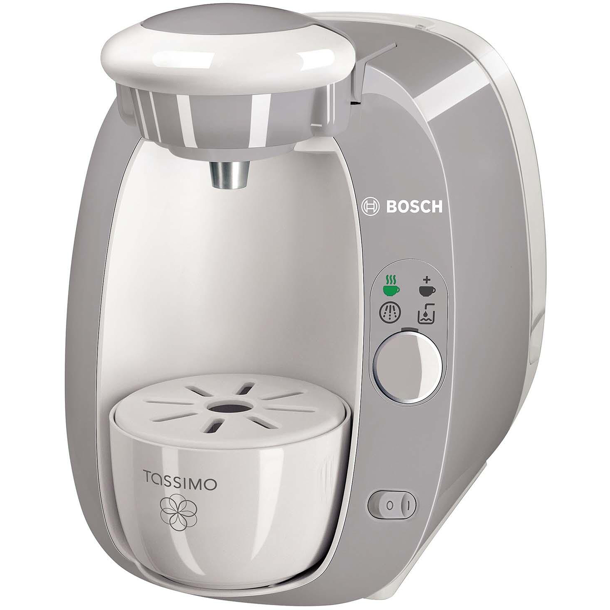 Electronic Bosch Tassimo T20 Coffee Machine bosch tassimo t20 beverage system and coffee brewer grey walmart com