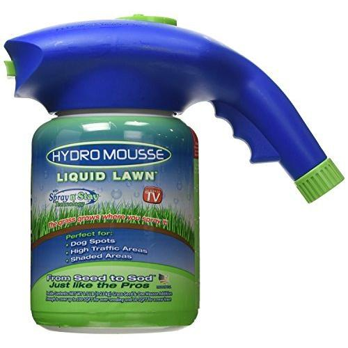 Hydro Mousse - Liquid Lawn Fescue Hydroseeding Kit, Covers up to 100 sq. ft.