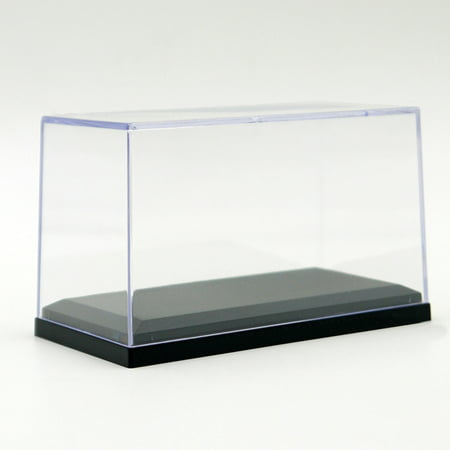 1:64 Scale Car Dust-Proof Black Base Display Box Acrylic Display Case for  Diecast Model Toy Car