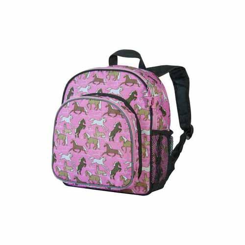 Horses in Pink Pack 'n Snack Backpack