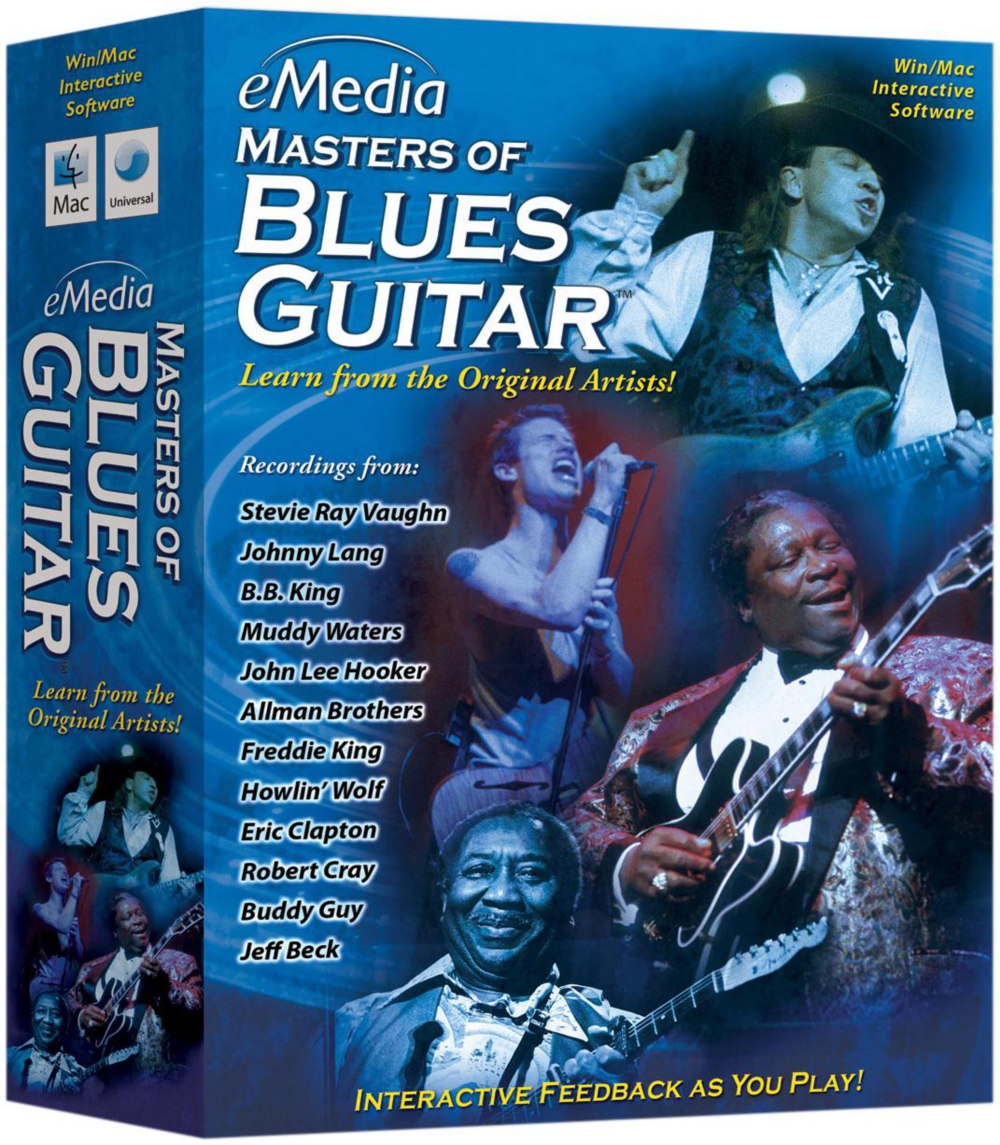 eMedia Masters of Blues Guitar by Emedia Music