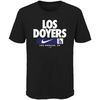 Los Angeles Dodgers Nike Youth Local Nickname T-Shirt - Black