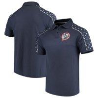 Men's Stitches Navy New York Yankees Americana Polo