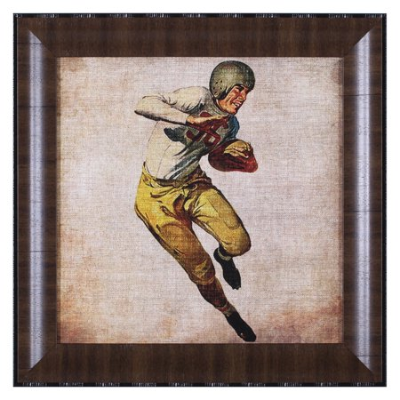 Art Effects Vintage Sports III Framed Wall Art