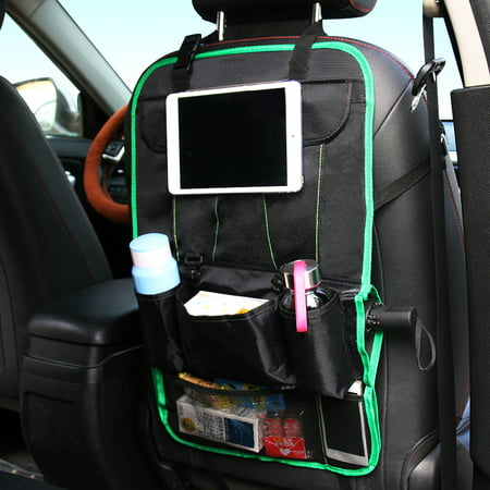 FrontTech Car Seat Back Organizer With Tablet Holder And Multi
