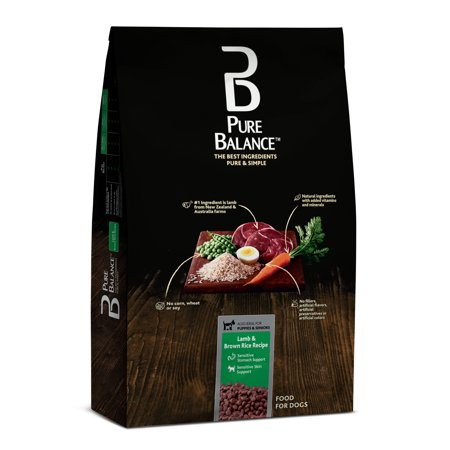Pure Balance Lamb & Brown Rice Recipe Dry Dog Food, 15 lb