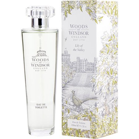 WOODS OF WINDSOR LILY OF THE VALLEY by Woods of Windsor - EDT SPRAY 3.3 OZ - WOMEN