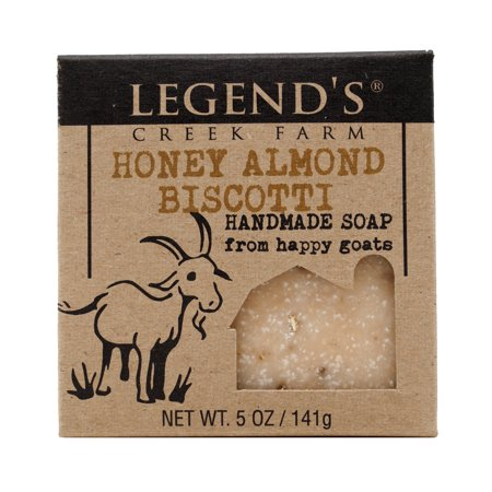 Honey Almond Biscotti Goat Milk Soap