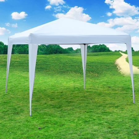 10'x10' Outdoor Canopy Party Wedding Tent Straight Leg Heavy Duty Gazebo