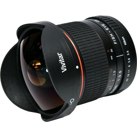 Vivitar 8mm f/3.5 Fisheye Lens (for Nikon