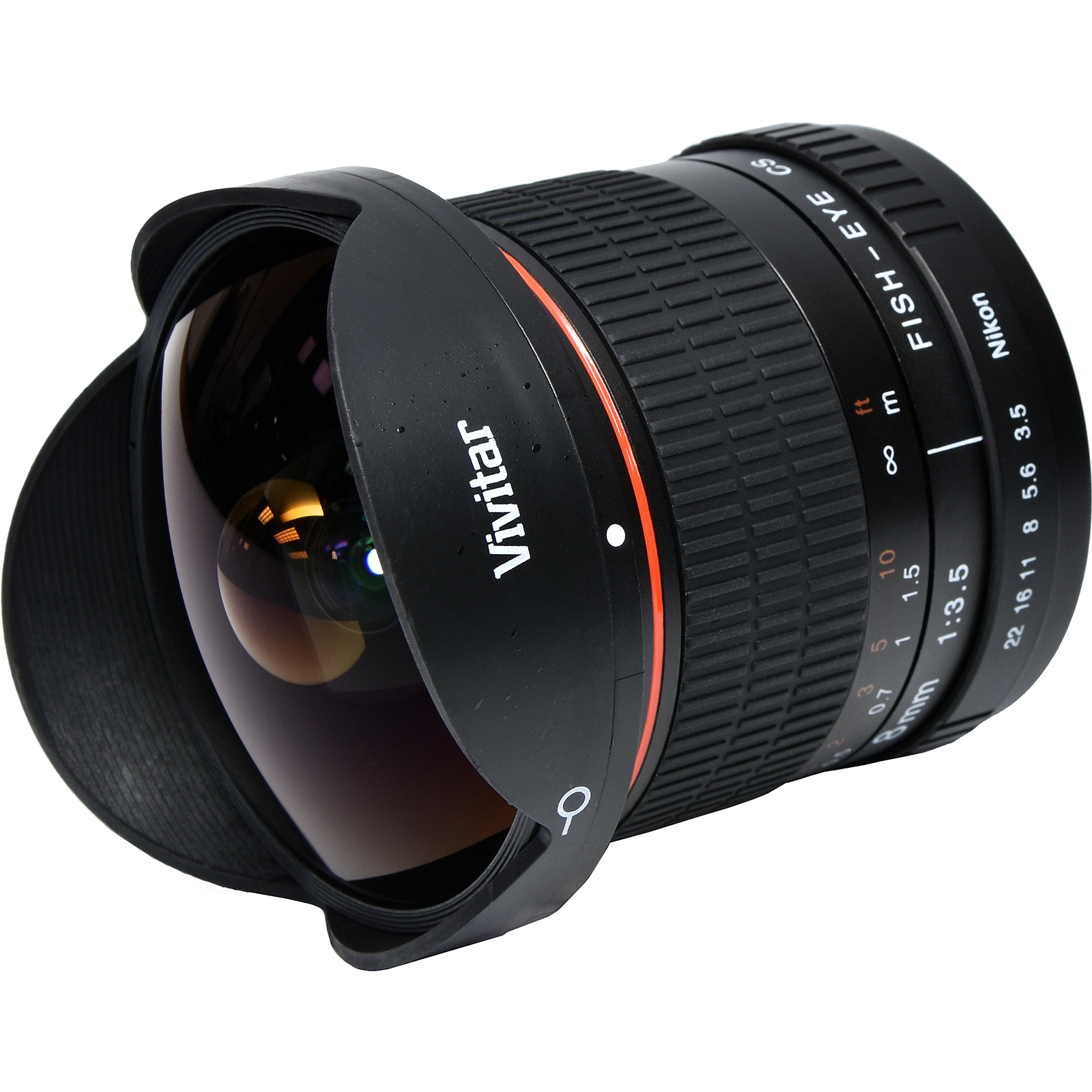 Vivitar 8mm f/3.5 Fisheye Lens (for Nikon Cameras)