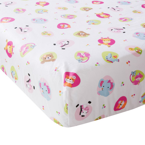 Bedtime Originals by Lambs & Ivy - Tutti Frutti Crib Sheet