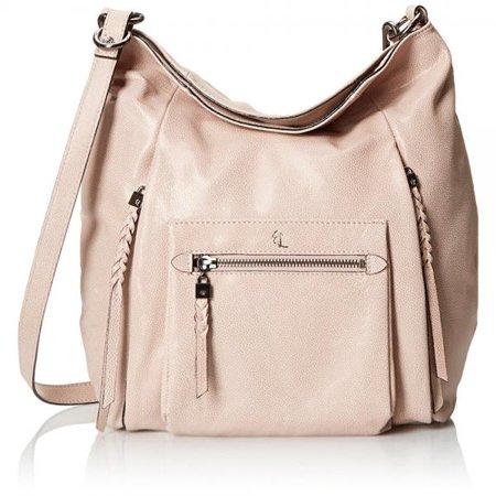 Elliott Lucca Vivien Foldover Hobo Bag Truffle One Size