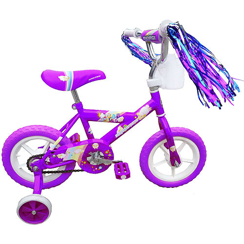 "12"" Micargi Girls' BMX Bike, Purple"