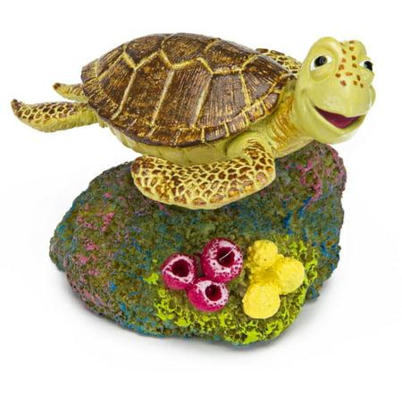 Penn-Plax Disney Finding Nemo Mini Aquarium Ornaments - Crush (2