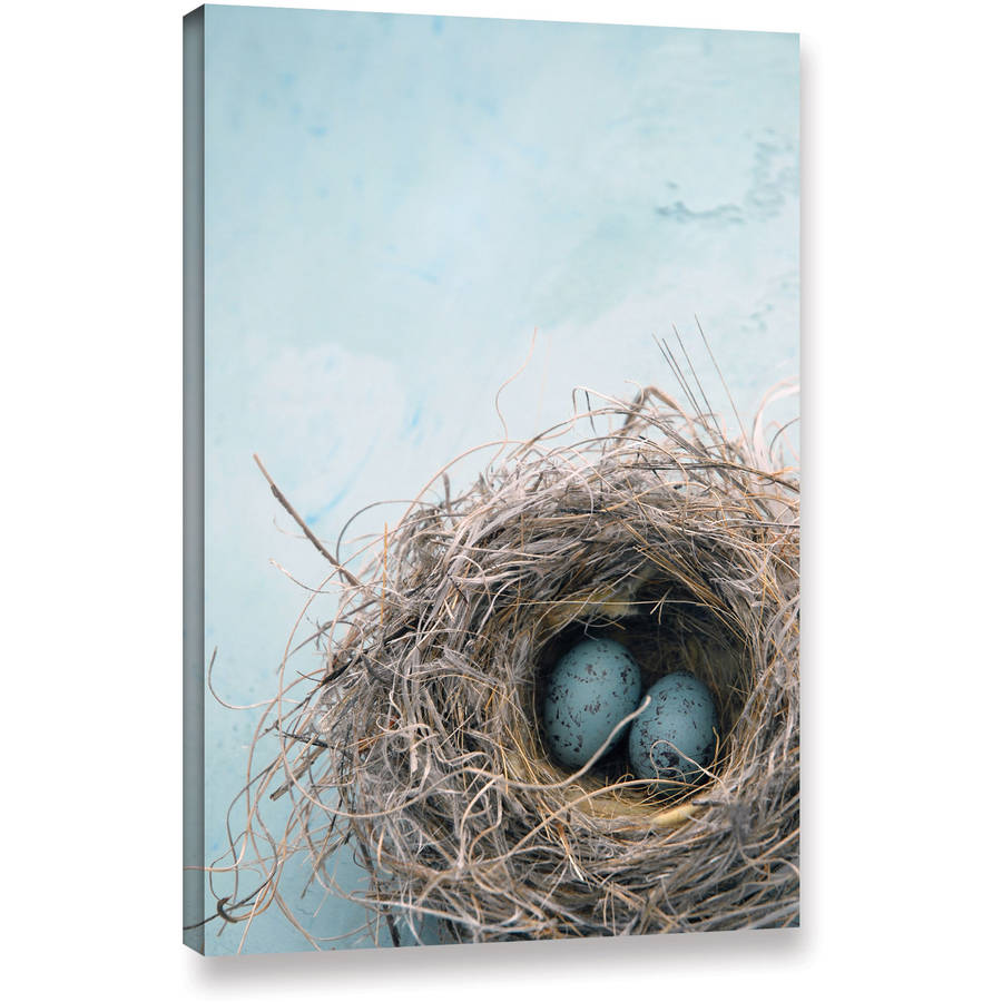 "Elena Ray ""Blue Nest"" Gallery-Wrapped Canvas"