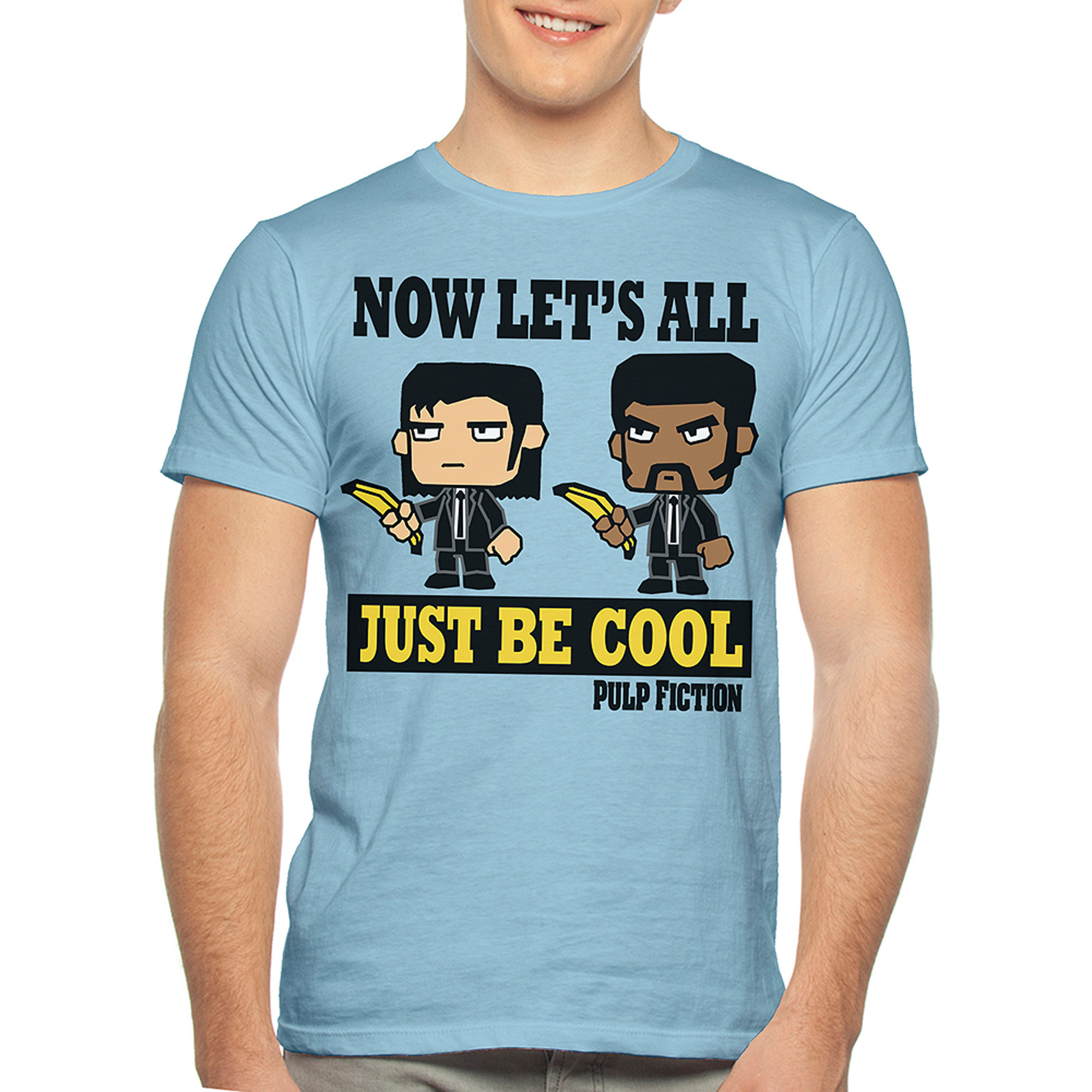 Pulp Fiction Be Cool Big Men's Graphic Tee