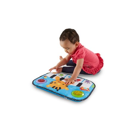 Fisher Price Kick Amp Play Piano Walmart Com