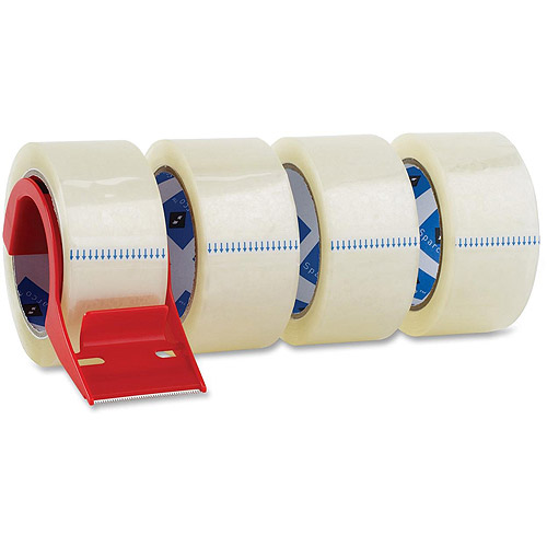 Sparco Heavy-Duty Packaging Tape with Dispenser