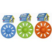JW Pet Whirl Wheel Flying Disk Dog Toy, Large, Assorted
