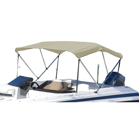 3 Bow Bimini Boat Top with Hardware 72