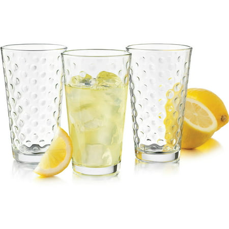 Libbey Glass 8-Piece Dots Cooler Set