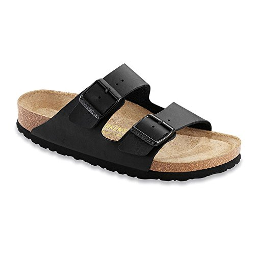 Birkenstock Unisex Arizona Birko-Flor Soft Footbed Black ...