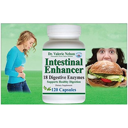 18 Digestive Enzymes - 120 Caps (Not 60) - For Digestion, Gas, Bloating - Dr. Follow