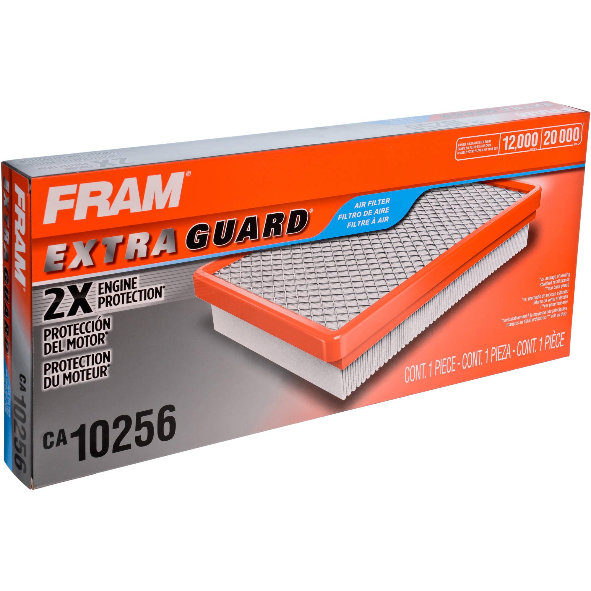 FRAM Extra Guard Air Filter, CA10256 by FRAM