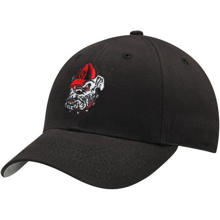 - Men's Black Georgia Bulldogs Basic Adjustable Hat - OSFA