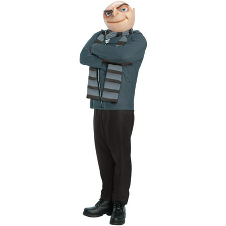 Despicable Me 2 Gru Adult Costume (Despicable Me Minion Baby Halloween Costumes)