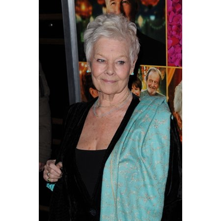 Judi Dench At Arrivals For The Second Best Exotic Marigold Hotel Premiere Ziegfeld Theatre New York Ny March 3 2015 Photo By Kristin CallahanEverett Collection