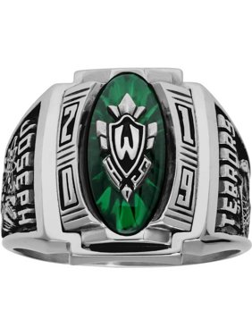 205d67a102ef Product Image Personalized Men's Varsity Class Ring available in Valadium  Metals, Valadium Two-Toned, Silver