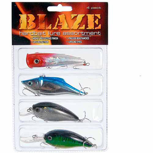 Blaze Hardbait Kit, 4-Pack