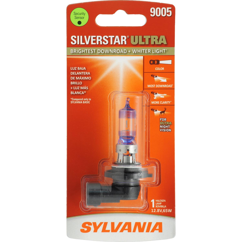 SYLVANIA 9005 SilverStar ULTRA Halogen Headlight Bulb, Pack of 1