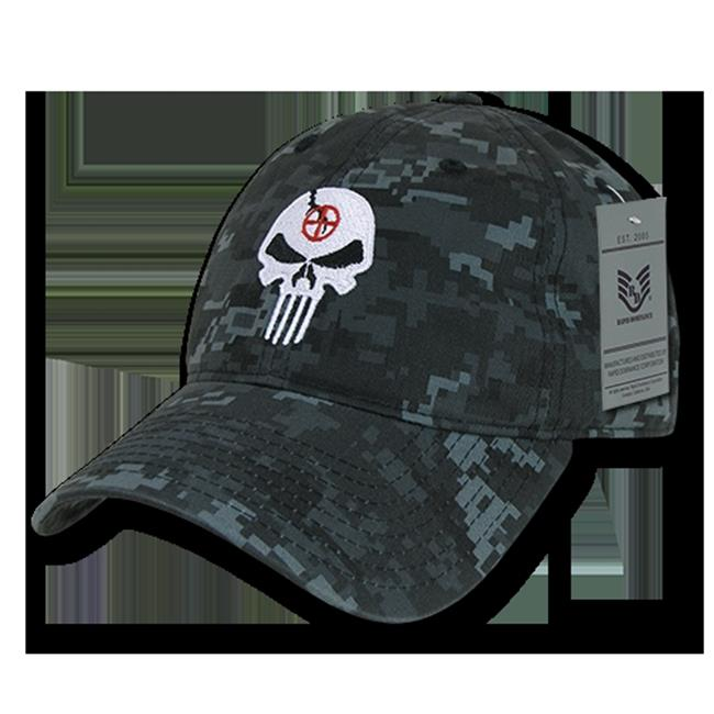 Rapid Dominance A03-PUNISH-NTG Relaxed Graphic Cap - Punisher Skull, NTG