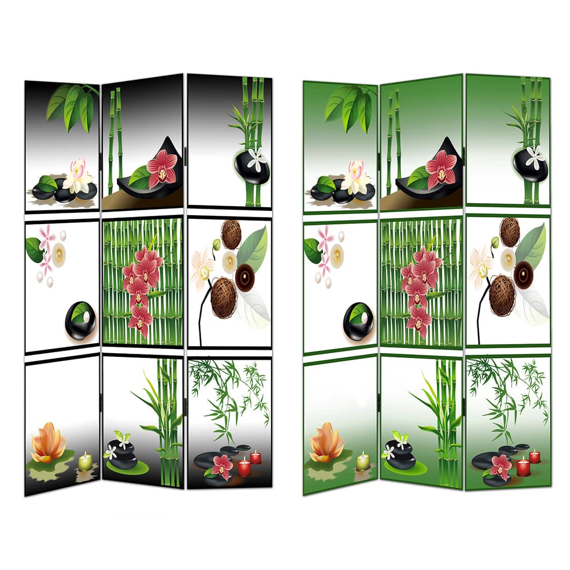 Esential Decor Beyond & Inc Essential Zen Design Room Divider