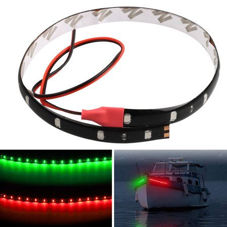 EEEkit 6pcs 12V Super Bright 11.8inch 12 LED Flexible Waterproof LED Strip light For Car Interior & Exterior Decoration DRL Day Running Light Or Boat Bus Garden Home Party ()